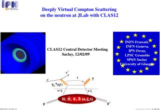 Deeply Virtual Compton Scattering on the neutron at JLab with CLAS12