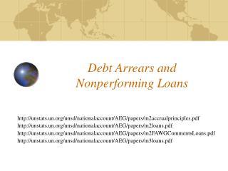 Debt Arrears and Nonperforming Loans