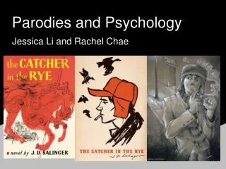 Parodies and Psychology