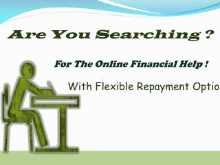 Sufficient Financial Deal With No Upfront Fee