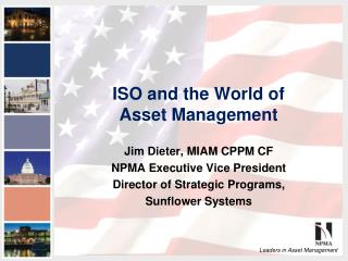 ISO and the World of  Asset Management