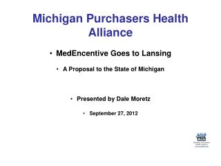 Michigan Purchasers Health Alliance
