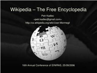 Wikipedia – The Free Encyclopedia