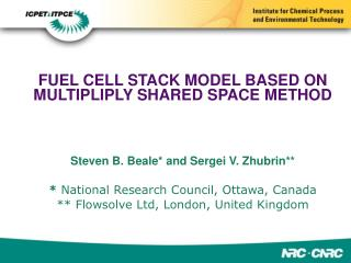 FUEL CELL STACK MODEL BASED ON MULTIPLIPLY SHARED SPACE METHOD