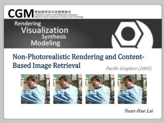Non-Photorealistic Rendering and Content-Based Image Retrieval