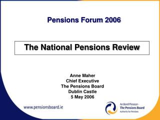 The National Pensions Review