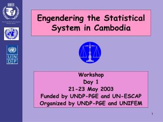 Engendering the Statistical System in Cambodia