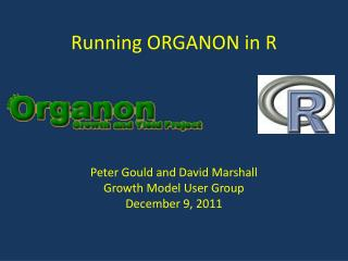 Running ORGANON in R