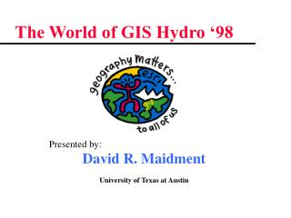 The World of GIS Hydro '98