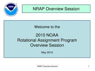 NRAP Overview Session