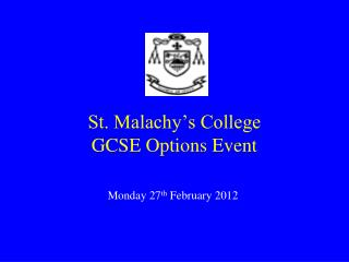 St. Malachy's College GCSE Options Event