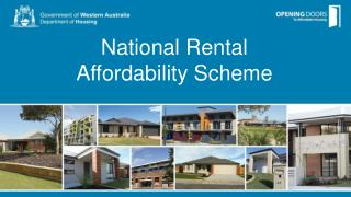 National Rental  Affordability Scheme