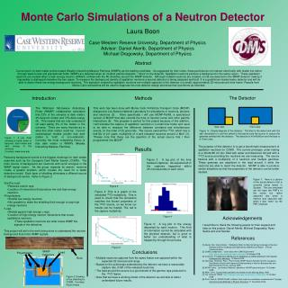 Monte Carlo Simulations of a Neutron Detector