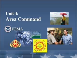 Unit 4:   Area Command