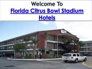 Florida Citrus Bowl Stadium Hotels