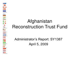 Afghanistan  Reconstruction Trust Fund