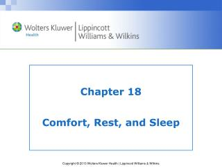 Chapter 18  Comfort, Rest, and Sleep
