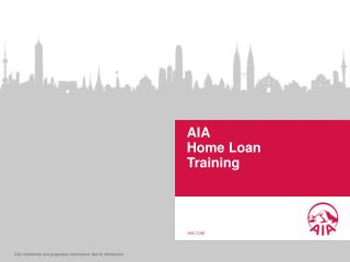AIA  Home Loan  Training