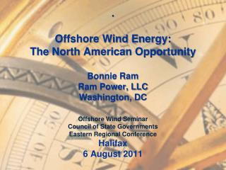 Why Offshore Wind: The Argument