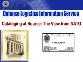 Cataloging at Source: The View from NATO