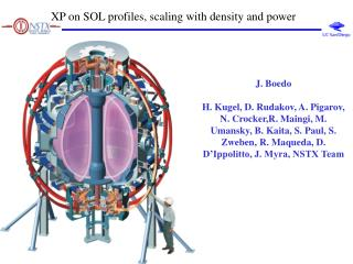 XP on SOL profiles, scaling with density and power
