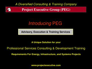 Introducing PEG