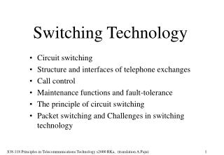 Switching Technology