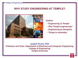 WHY STUDY ENGINEERING AT TEMPLE?