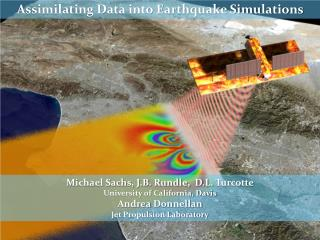 Assimilating Data into Earthquake Simulations