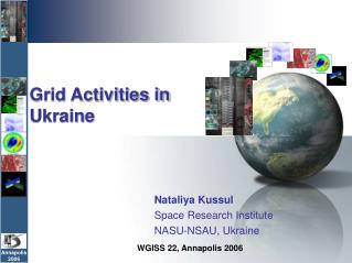 Grid Activities in Ukraine
