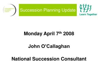Succession Planning Update