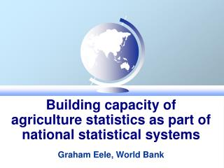 New opportunities for statistics