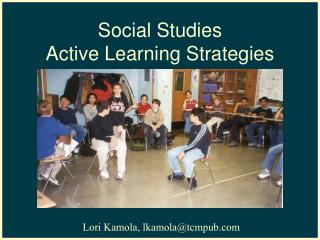 Social Studies  Active Learning Strategies