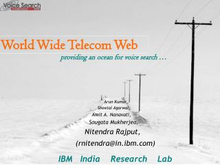 World Wide Telecom Web