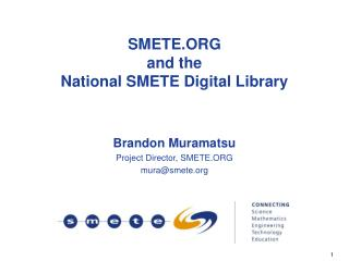SMETE.ORG and the National SMETE Digital Library