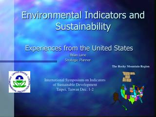 Environmental Indicators and Sustainability