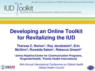 Developing an Online Toolkit for Revitalizing the IUD