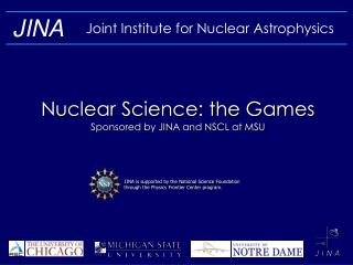 Joint Institute for Nuclear Astrophysics
