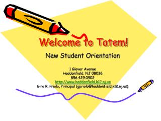 Welcome to Tatem!