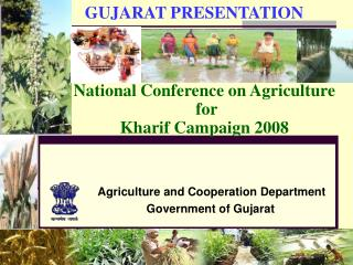 National Conference on Agriculture   for  Kharif Campaign 2008