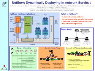 NetServ: Dynamically Deploying In-network Services