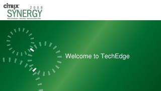 Welcome to TechEdge