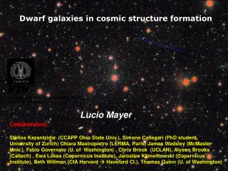 Dwarf galaxies in cosmic structure formation
