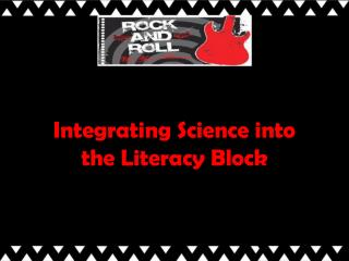 Integrating Science into the Literacy Block