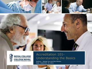 Accreditation 101-Understanding the Basics