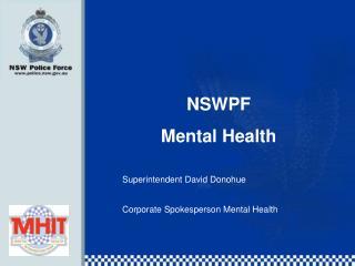 NSWPF Mental Health