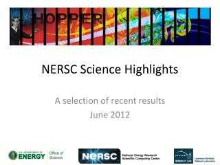 NERSC Science Highlights