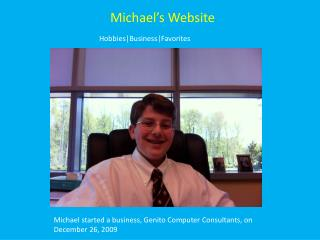 Michael's Website