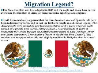 Migration Legend?