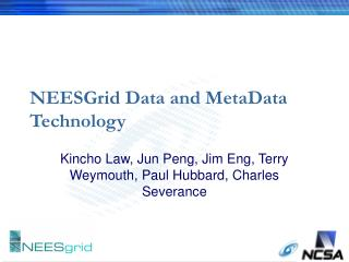 NEESGrid Data and MetaData Technology